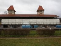 Baustellenüberdachung